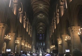 Sunday night mass