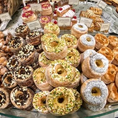Donuts at Harrod's