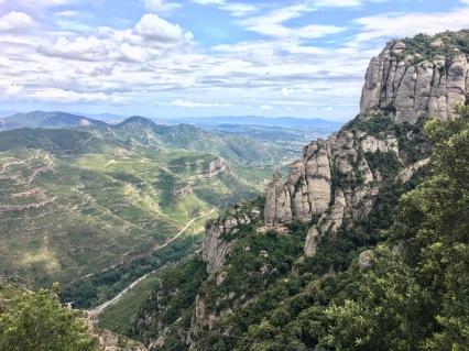 Looking over Catalunya
