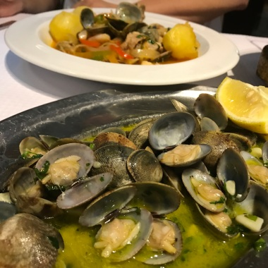 Clams and cataplana