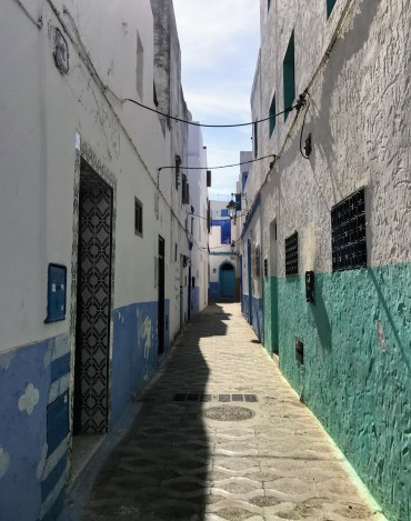 Beach-colored buildings
