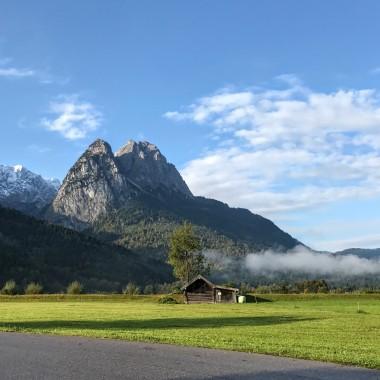 Zugspitze from below