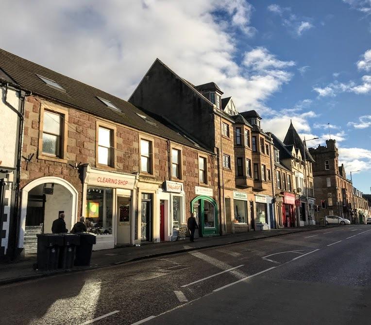 Small town of Callander