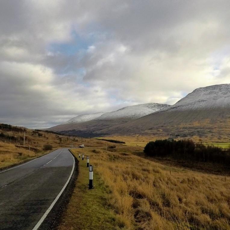 Views along the road