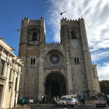 Lisbon Cathedral (construction started in 1147)