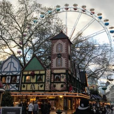 Only market where I've seen a Ferris wheel!