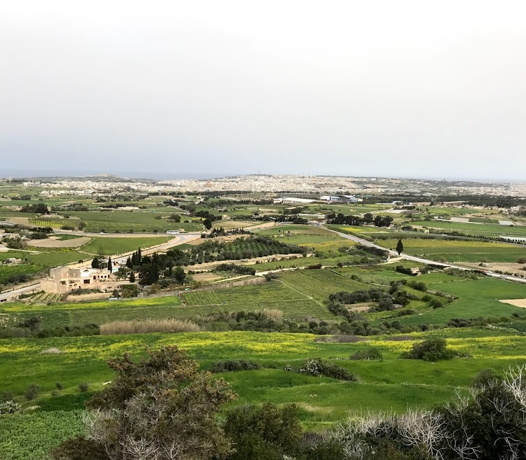 View of Malta from Mdina
