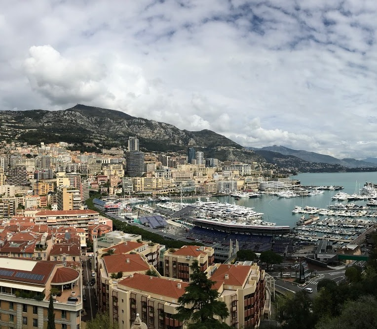 Most of Monaco is in this picture!