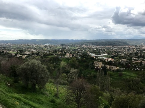 Wonderful views from Saint Paul de Vence