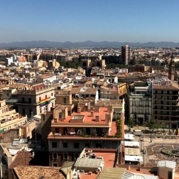 Overlooking Valencia from the cathedral tower