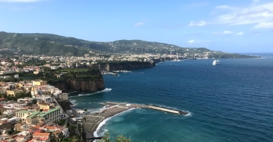 Overlooking Sorrento