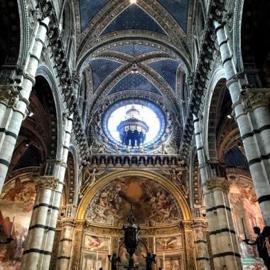 Inside of Siena Duomo