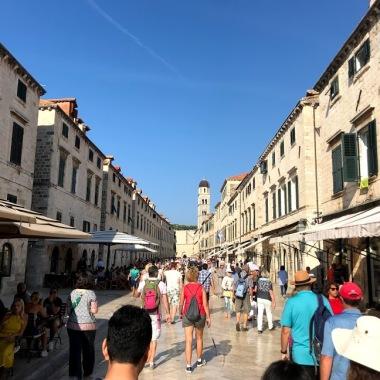 Main street entering town