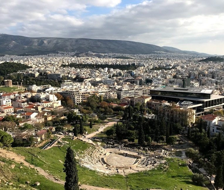 View from top of Acropolis