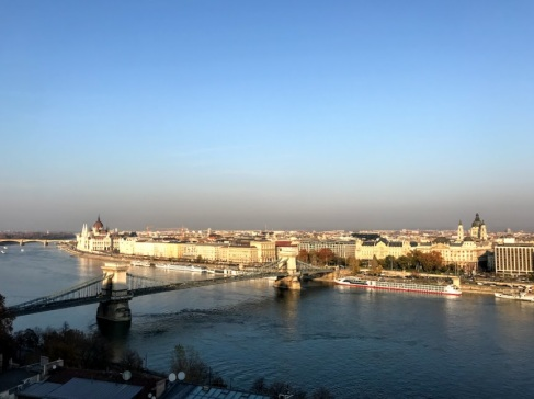 Overlooking the Danube from Castle Hill