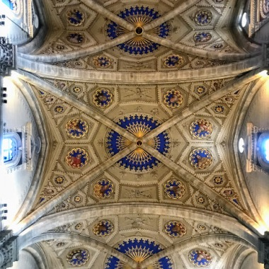 Intricate cathedral ceiling