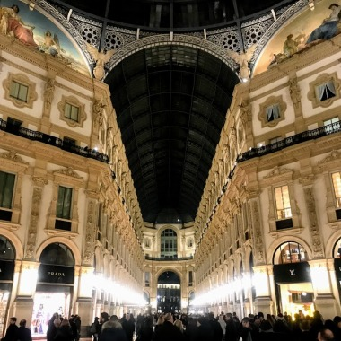 Galleria Vittorio Emmanuele II - world's oldest shopping mall!