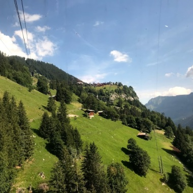 Cable car to Mürren