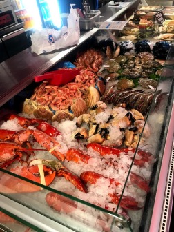 Seafood array