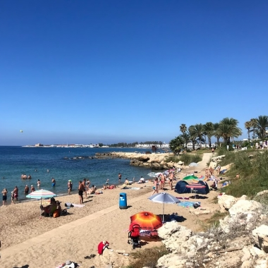 City beach in Paphos