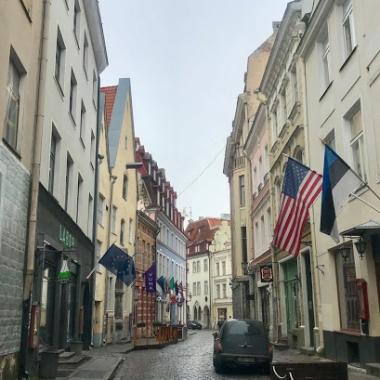 Cute streets of Tallinn